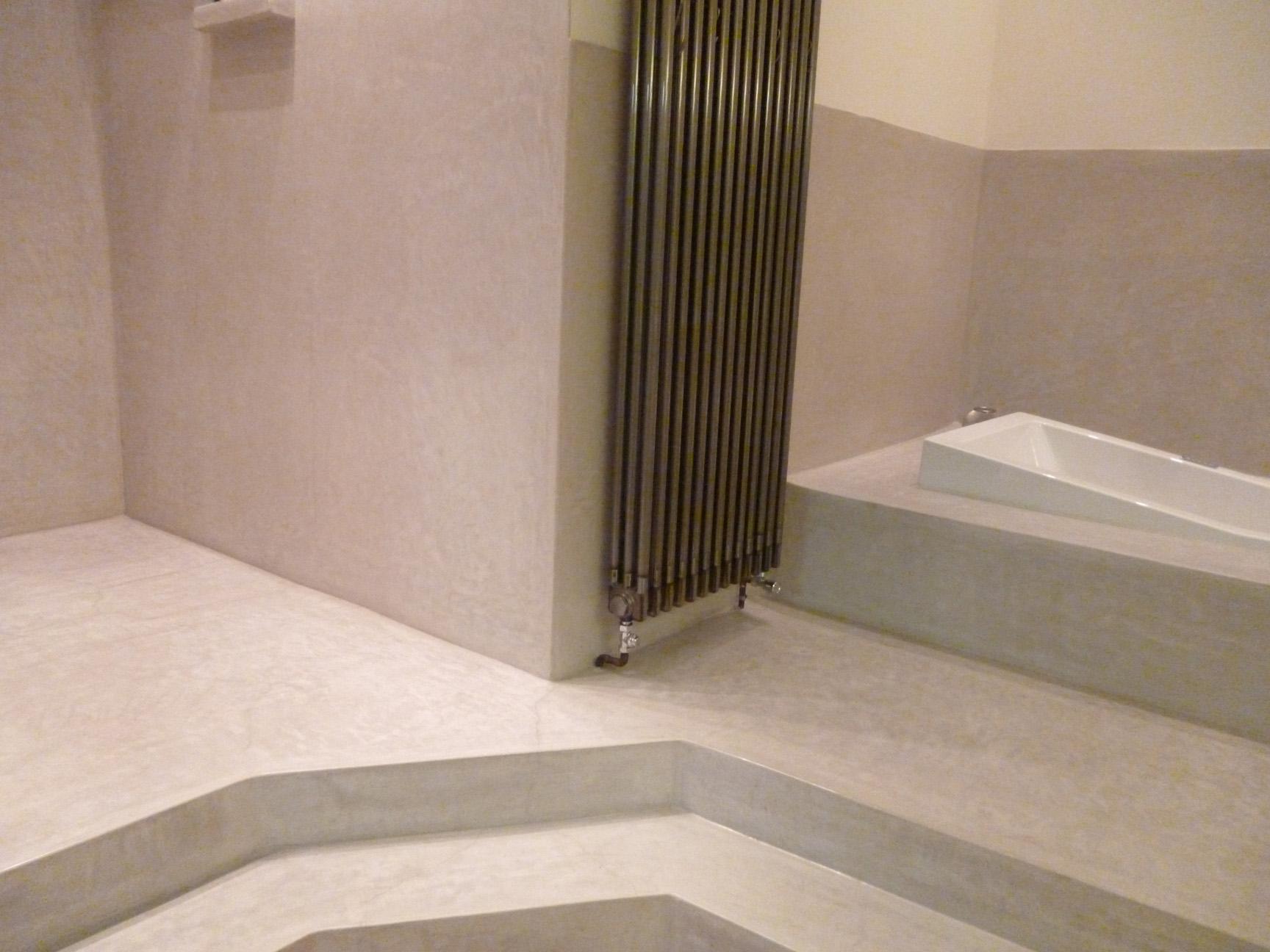 Tadelakt de Marrakech, Lahouari Tahiri artisan - Salle de bain en ...